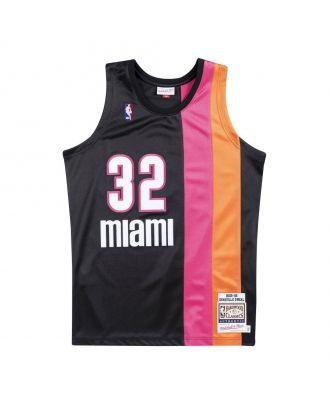 MAILLOT NBA SHAQUILLE O'NEAL MIAMI HEAT 2005-06 AUTHENTIC MICHELL&NESS